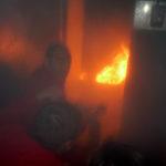 Exercice sur feu réel en Cellule Formation Incendie Réel